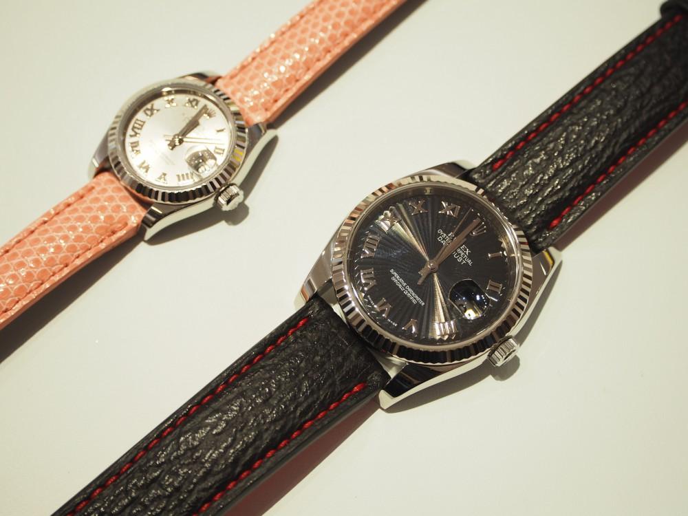 more photos 112d4 d0f85 ご愛用の時計もオオミヤ京都店で大変身!オーダーメイドの革 ...