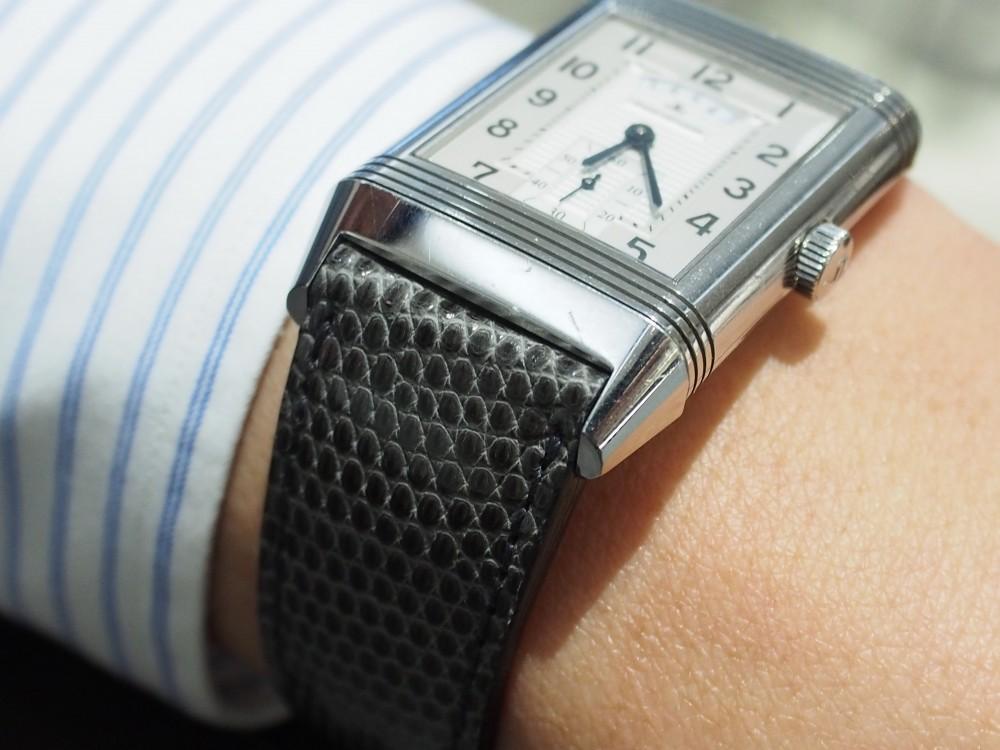 傷んでしまった革ベルトのお時計をジャン・ルソーのオーダーベルトで復活!