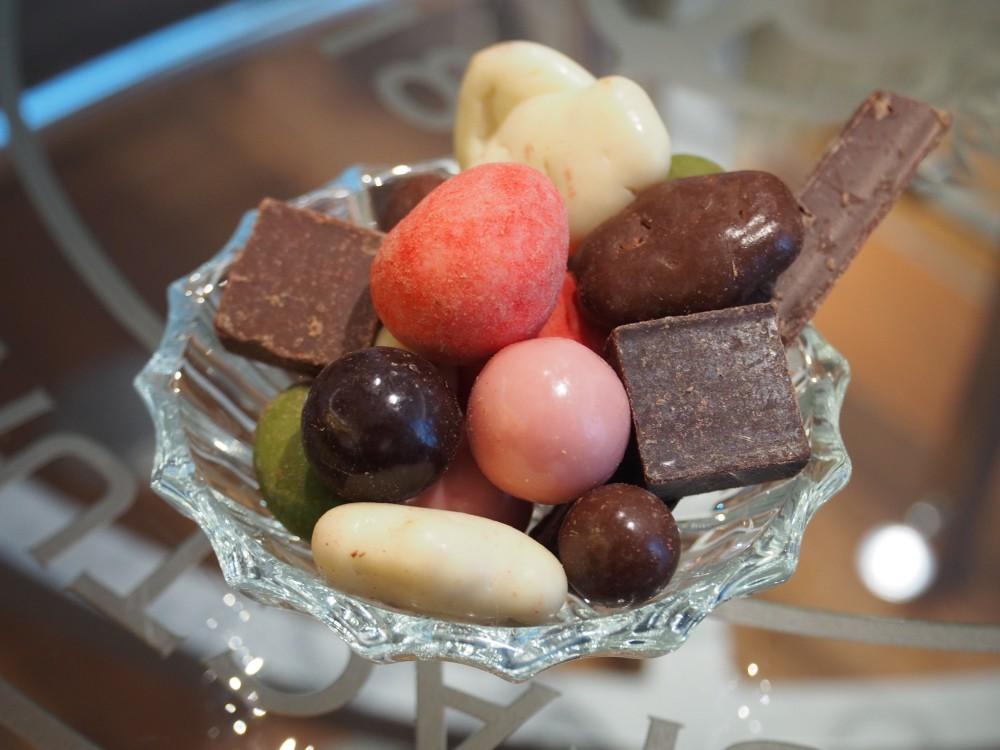 T様、お母様からマシューのチョコレートをいただいちゃいました!