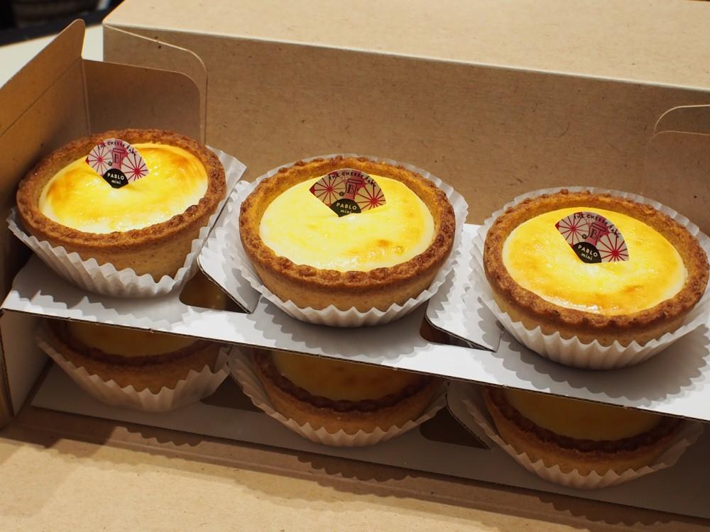 M様がパブロのチーズケーキタルトを差し入れてくださいました!!-oomiya京都店のお客様 -P6033182