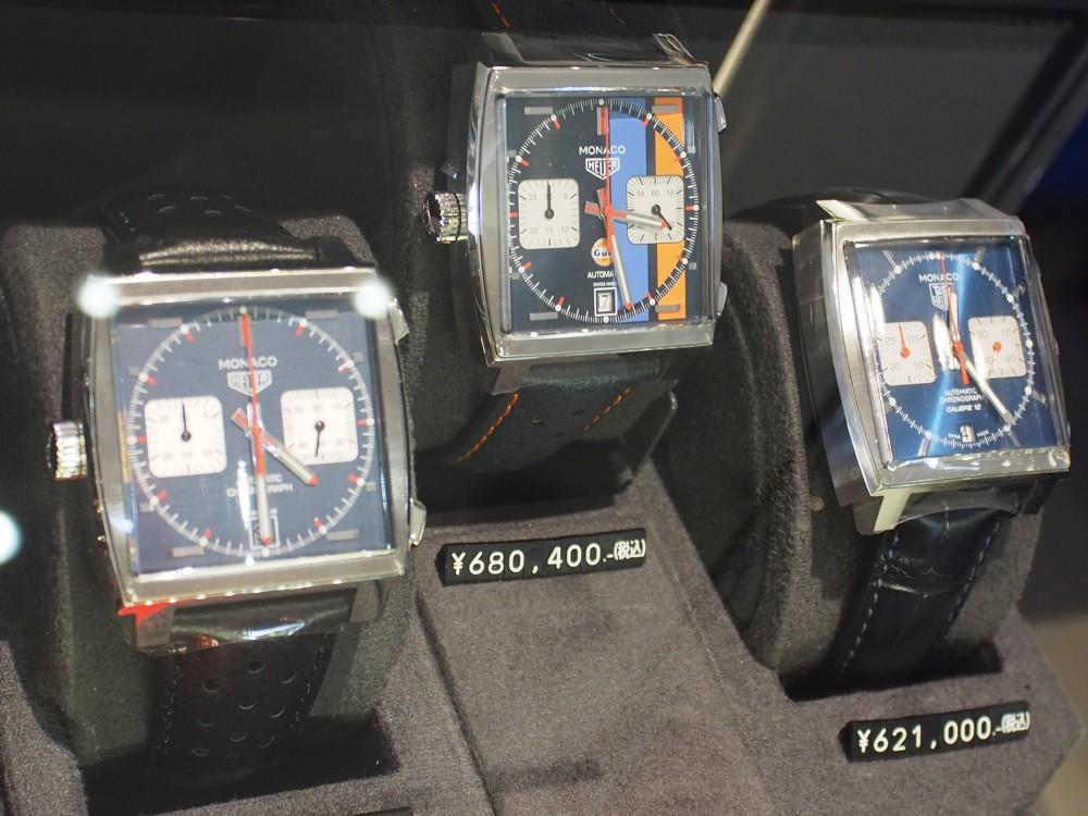 スティーブ・マックイーンも愛したモナコ、37mmケースのブラウン文字盤のモナコが初入荷!-TAG Heuer -P6093343