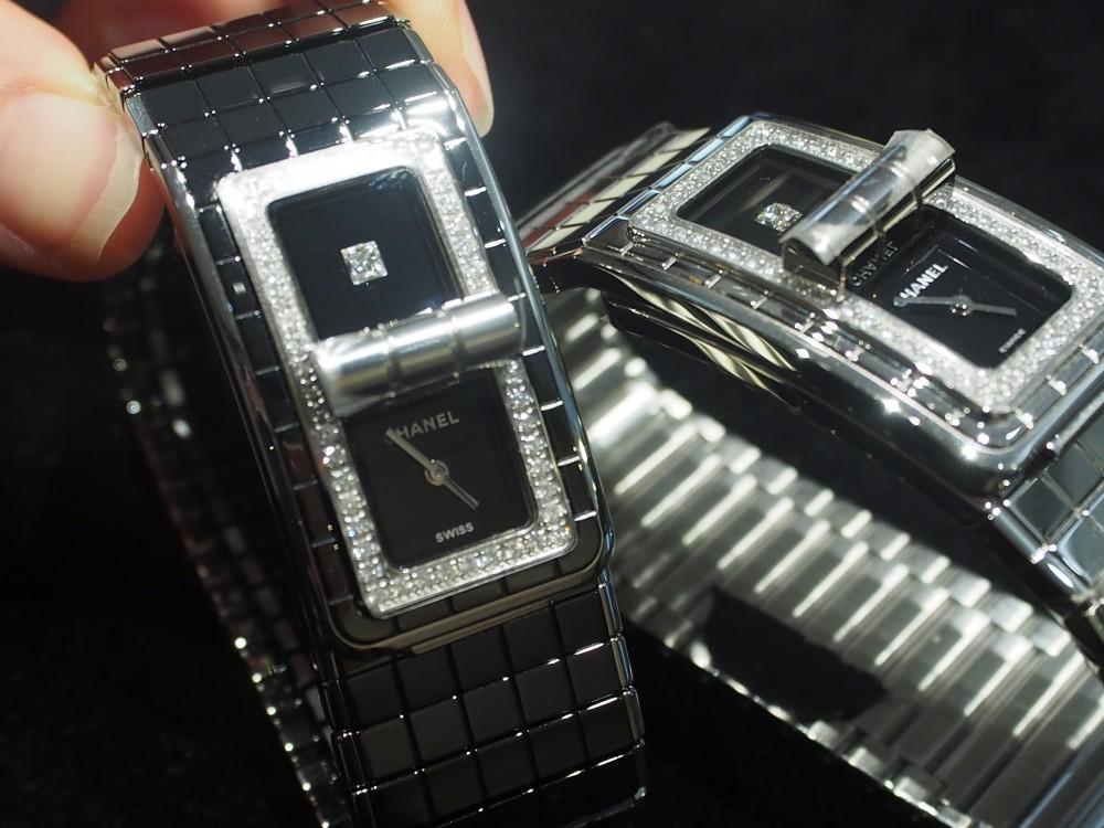 5bdef99de7f2 ... シャネルの時計はオオミヤ京都店で!コード ココ《ブラックセラミック》H5148