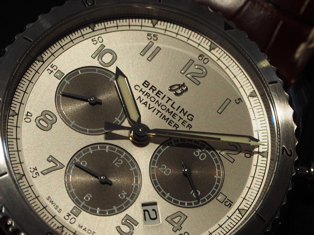 """「MR POTER」×「BREITLING」世界限定1000本と特別な""""アビエーター8 B01 クロノグラフ""""-BREITLING -P7214168"""