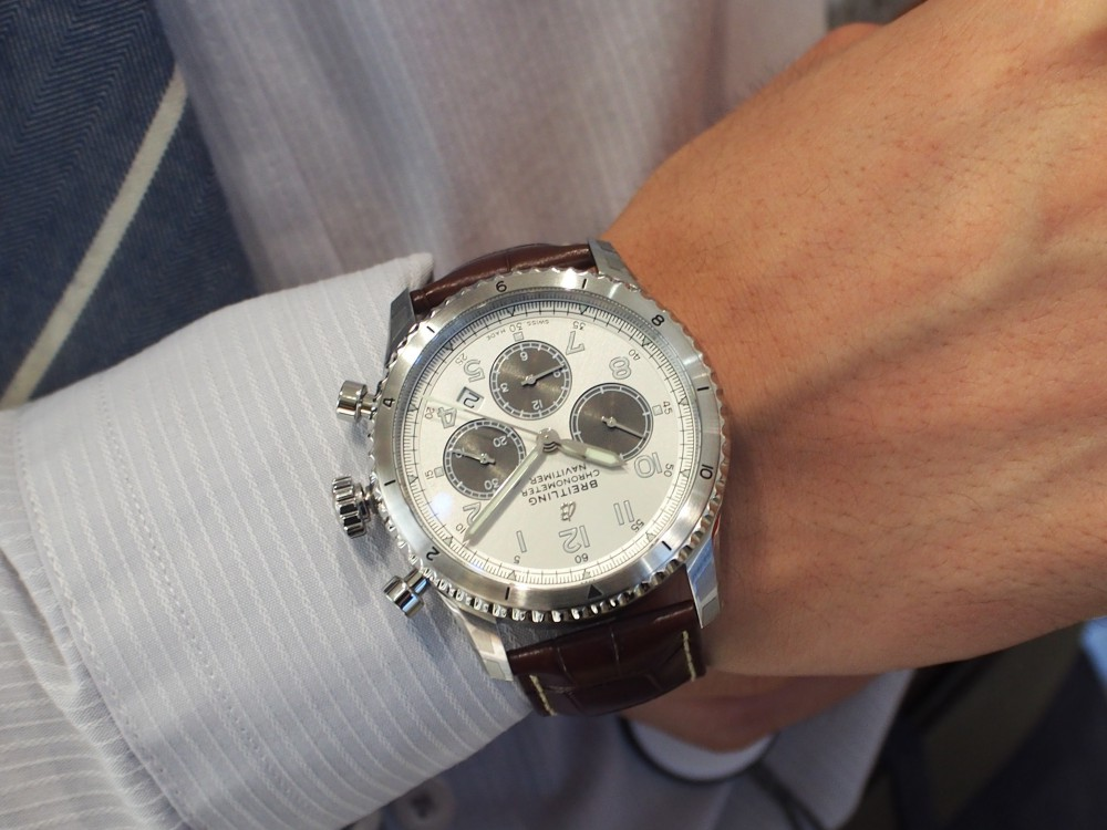 """「MR POTER」×「BREITLING」世界限定1000本と特別な""""アビエーター8 B01 クロノグラフ""""-BREITLING -P7214173"""