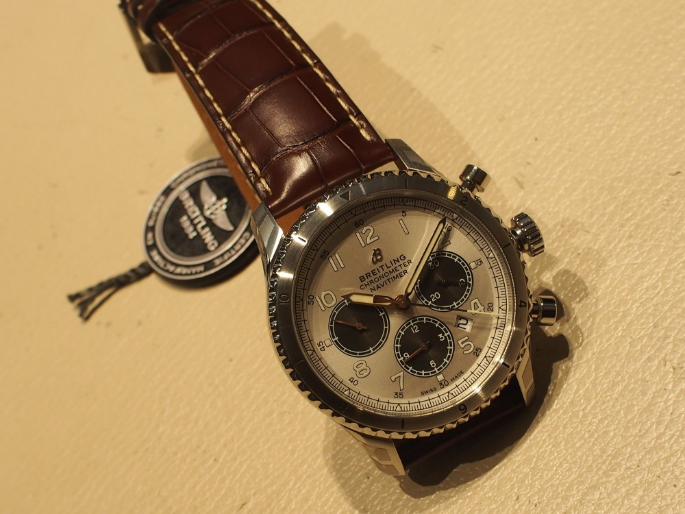 """「MR POTER」×「BREITLING」世界限定1000本と特別な""""アビエーター8 B01 クロノグラフ""""-BREITLING -P7214175"""