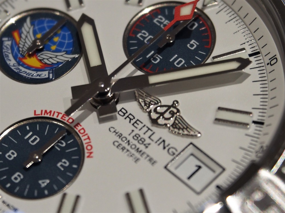 ラスト1本!?緊急入荷!ブライトリング『アベンジャー Ⅱ ブルーインパルス』A339ABIPSS-BREITLING -P7264267
