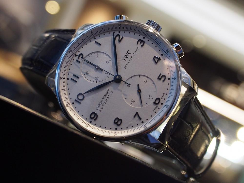 IWCの時計を買うなら?間違いなしのこのモデル!~ポルトギーゼ・クロノグラフ~