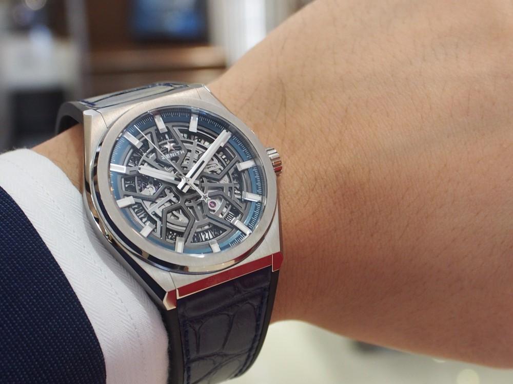 wholesale dealer 1d36d 804c4 個性あるシンプル時計はゼニス【デファイクラシック】がおススメ ...