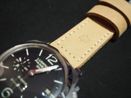 【お客様のお時計紹介】N様ご愛用のパネライ PAM00233のストラップ変更!