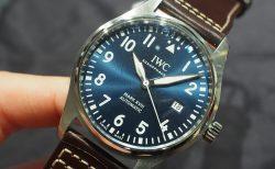 ブルー文字盤を選ぶあなたはお洒落上級者♪IWC パイロット プティ・プランス/IW327010