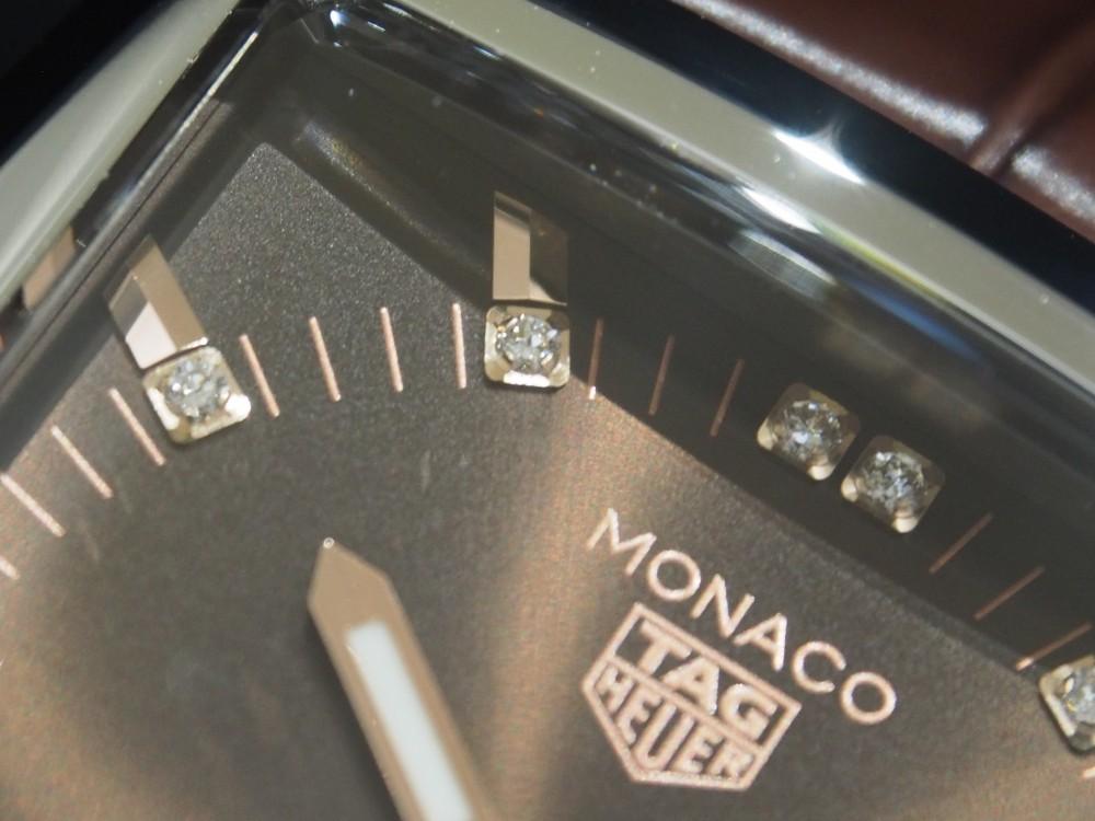 スティーブ・マックイーンも愛したモナコ、37mmケースのブラウン文字盤のモナコが初入荷!-TAG Heuer -PB130538