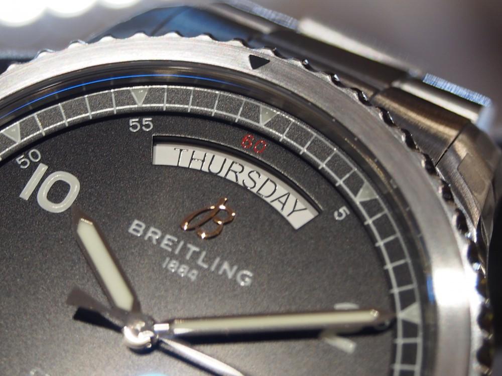 """【ブライトリング フェア】""""ナビタイマー8 オートマチック デイ&デイト 41""""入荷致しました☆-BREITLING -PB220638"""