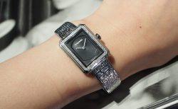 シンプルだけど飽きのこない女性らしい腕時計ーシャネル/H4877ー
