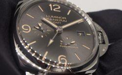 入荷速報!「ルミノール ドゥエ 3デイズ GMTパワーリザーブオートマティック」PAM00944