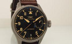 IWC ビッグパイロット / 堅牢&軽量なチタンケース