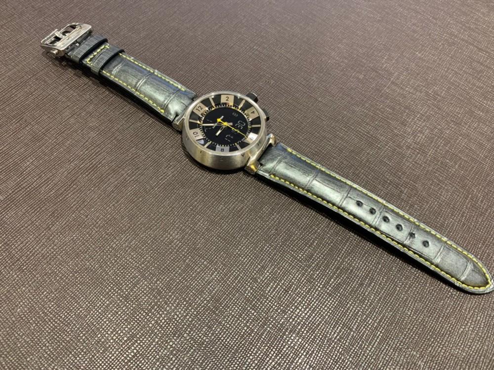 ストラップが切れてしまった時計もジャン・ルソーのオーダーストラップで再び愛用できます。-その他ブランド用 ジャン・ルソー オーダーストラップ oomiya京都店のお客様 -a0da242716c071e34ea538826ba4db57