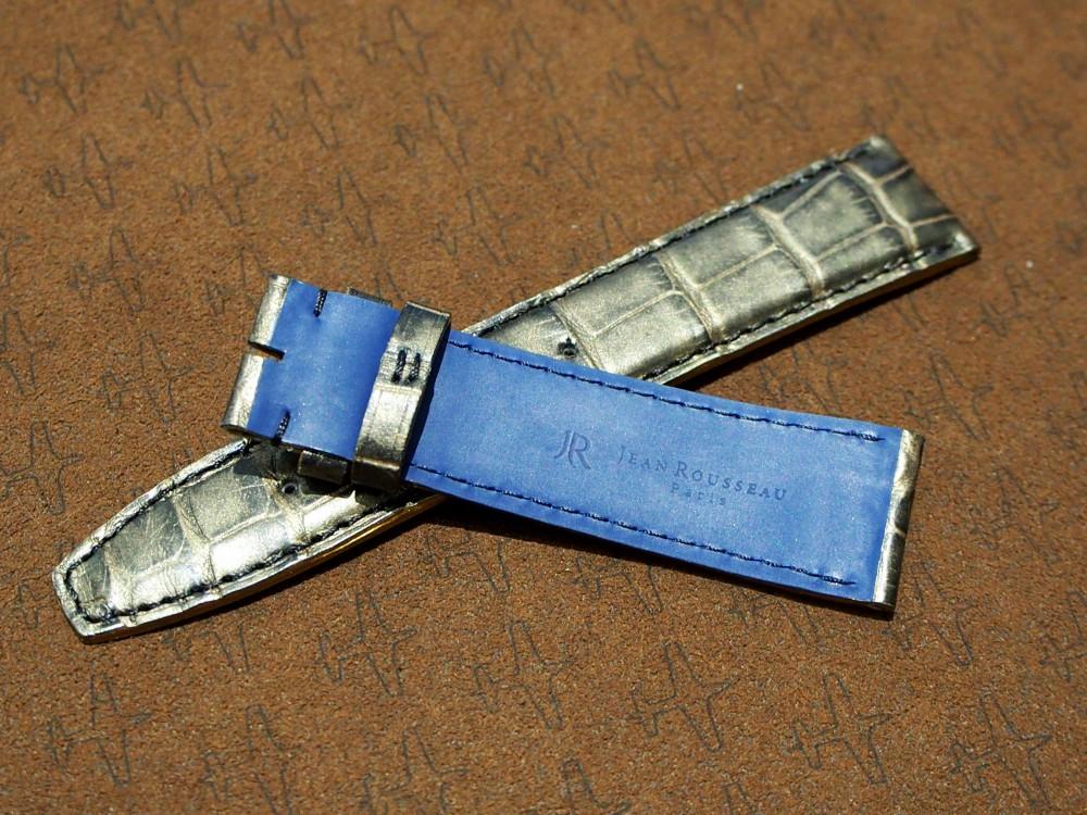 IWC150周年モデルのポートフィノ・クロノグラフもジャンルソーで自分色に♪-IWC用 ジャン・ルソー オーダーストラップ oomiya京都店のお客様 -P2262062