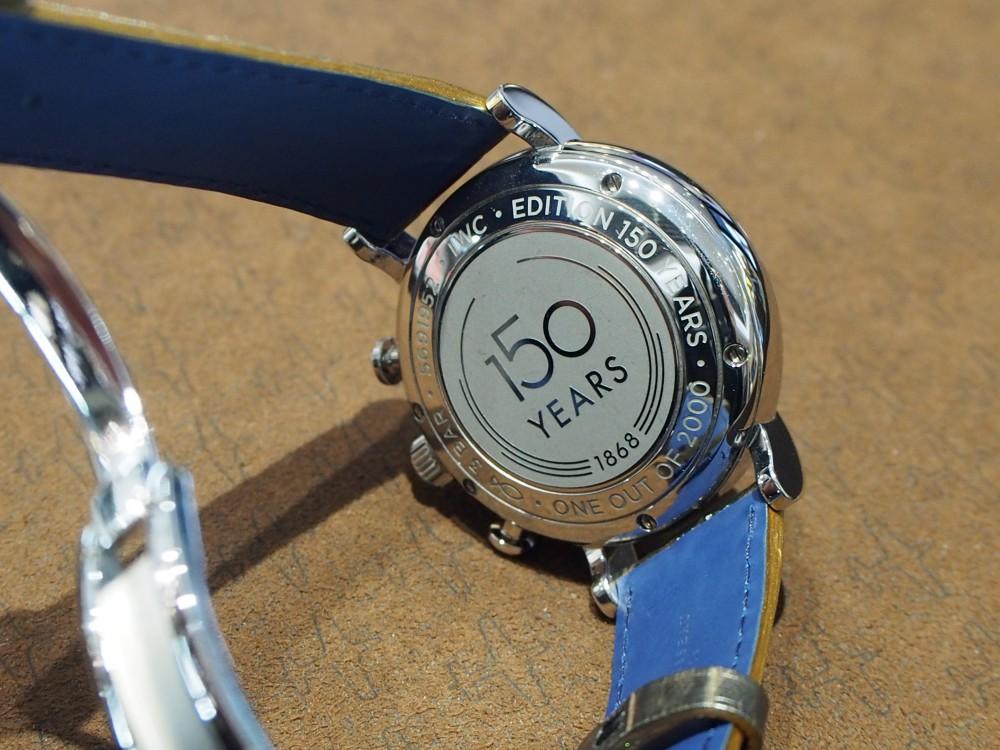 IWC150周年モデルのポートフィノ・クロノグラフもジャンルソーで自分色に♪-IWC用 ジャン・ルソー オーダーストラップ oomiya京都店のお客様 -P2262065