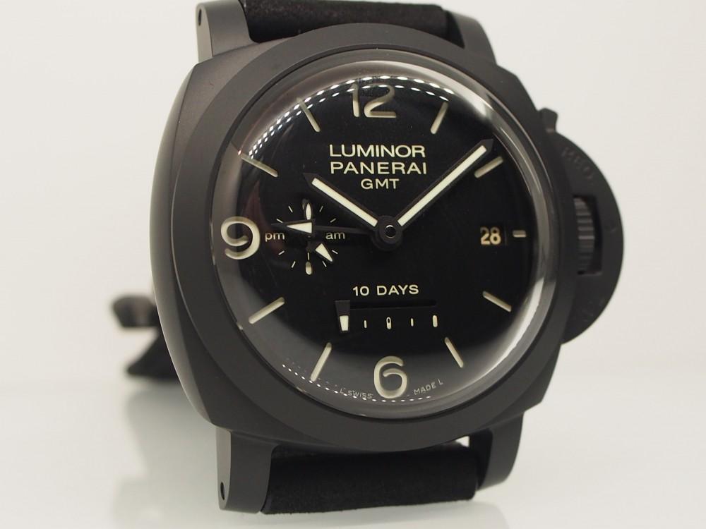【WORLD WATCH FAIR】開催中!パネライ希少モデル 「ルミノール 1950 10デイズ GMT チェラミカPAM00335」再入荷!-PANERAI -P4080167