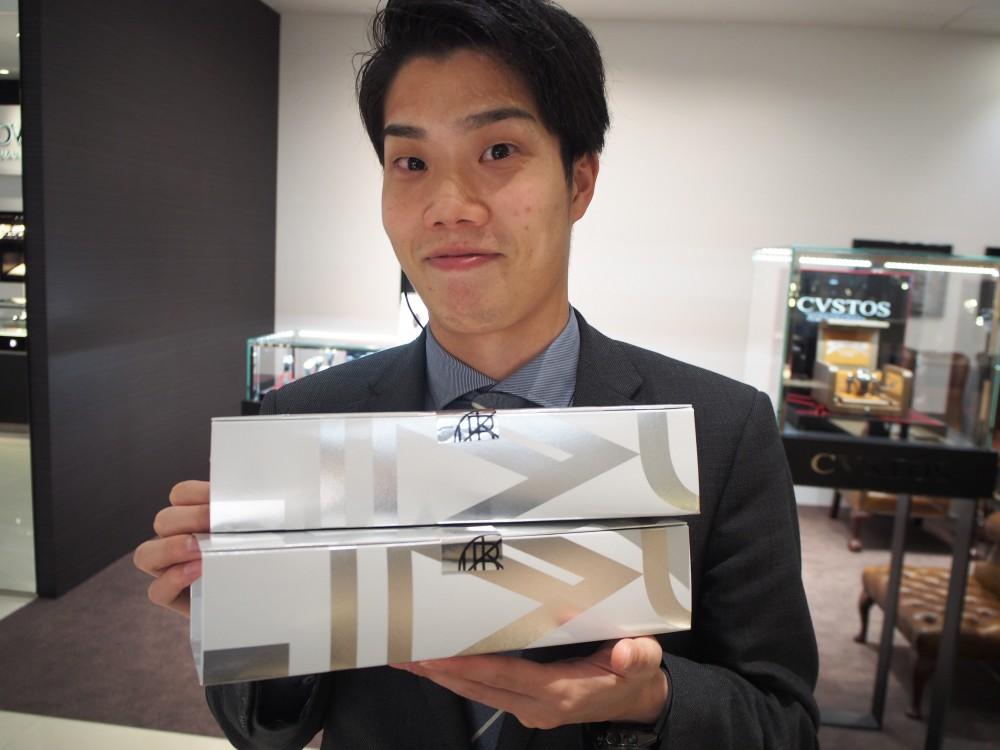 K様が洛甘舎さんのお菓子を差し入れしてくださいました!-oomiya京都店のお客様 スタッフつぶやき -P4080174