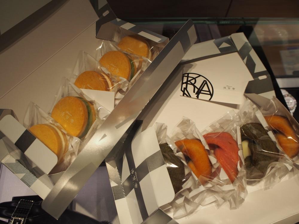 K様が洛甘舎さんのお菓子を差し入れしてくださいました!-oomiya京都店のお客様 スタッフつぶやき -P4080176