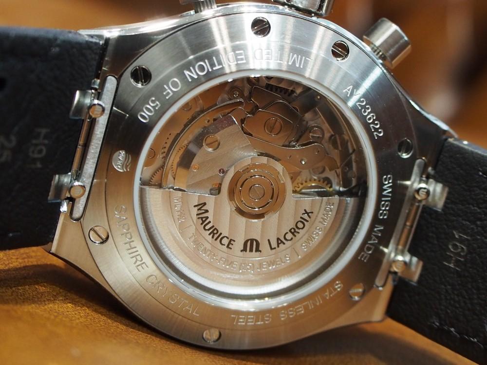 モーリス・ラクロアから限定500本の超貴重な新作モデルの入荷!~アイコン オートマティック クロノグラフ-MAURICE LACROIX -P4160380