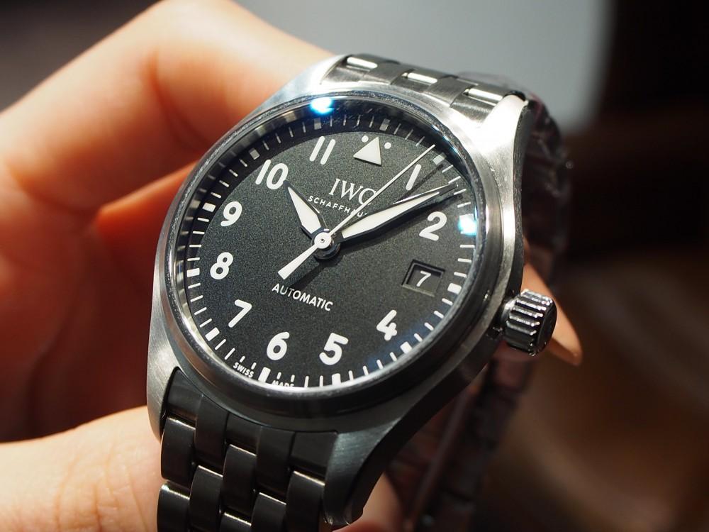 """IWC / 帰ってきた""""36mm""""のパイロット・ウォッチ・オートマティック36 (IW324010)-IWC -P4190456"""
