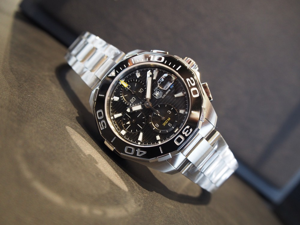 300メートル防水なら時計を着けたまま海にだって潜れちゃう!タグ・ホイヤーのダイバーズウォッチ!-TAG Heuer -P5040839