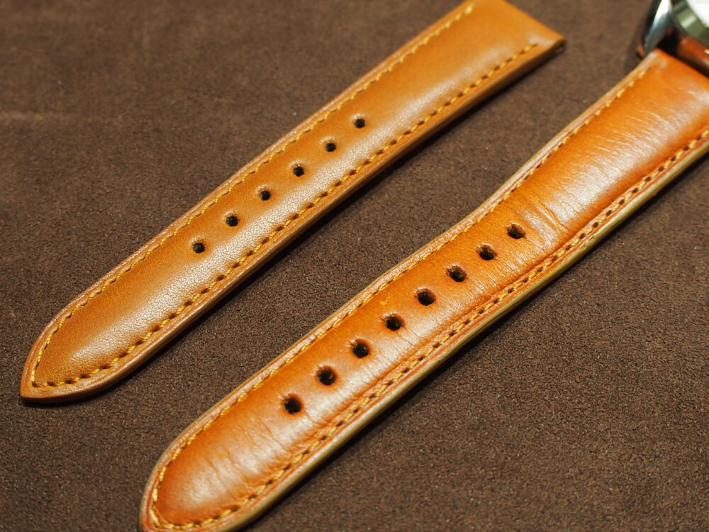 手首の太さに革ベルトが合わなくてもジャン・ルソーで解決できる♪-その他ブランド用 ジャン・ルソー オーダーストラップ oomiya京都店のお客様 -P5250154