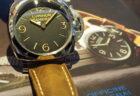 大型でパネライの伝統を受け継ぐ1本、「ルミノール 1950 3デイズ PAM00372」再入荷しました。