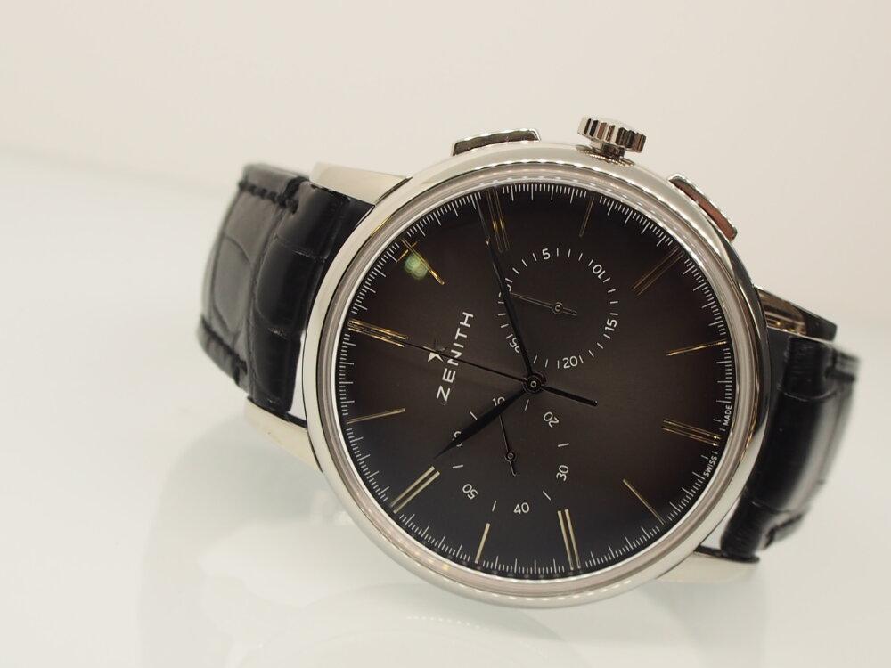 【ゼニス】伝説のクラッシック時計!!シンプルでかぶらないお時計でお探しならエリート-ZENITH -P6211706