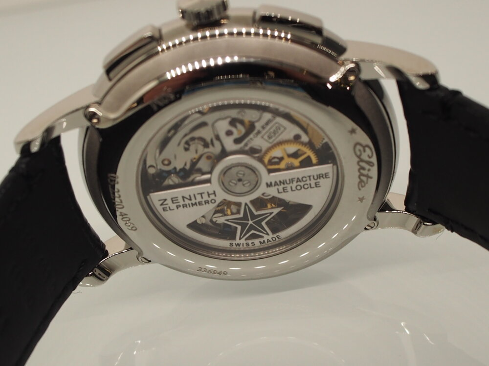 【ゼニス】伝説のクラッシック時計!!シンプルでかぶらないお時計でお探しならエリート-ZENITH -P6211730
