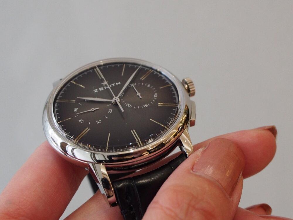 【ゼニス】伝説のクラッシック時計!!シンプルでかぶらないお時計でお探しならエリート-ZENITH -P6211737