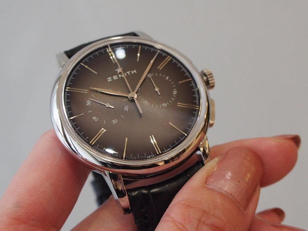 【ゼニス】伝説のクラッシック時計!!シンプルでかぶらないお時計でお探しならエリート-ZENITH -P6211738
