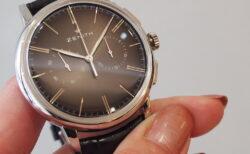 【ゼニス】伝説のクラッシック時計!!シンプルでかぶらないお時計でお探しならエリート