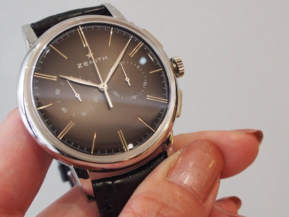 【ゼニス】伝説のクラッシック時計!!シンプルでかぶらないお時計でお探しならエリート-ZENITH -P6211739