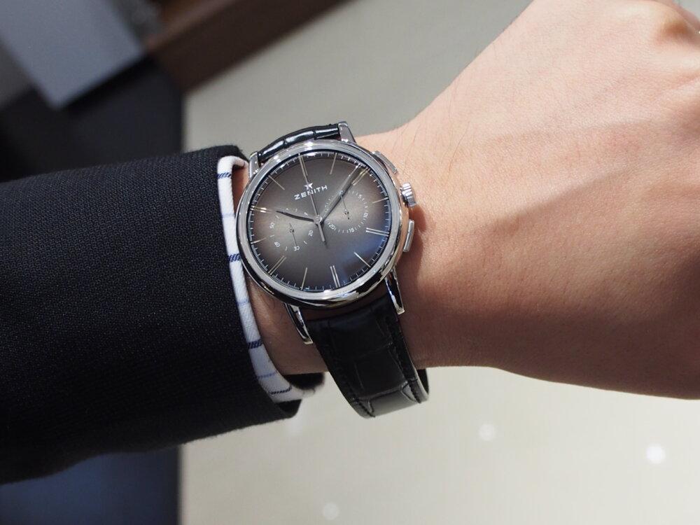 【ゼニス】伝説のクラッシック時計!!シンプルでかぶらないお時計でお探しならエリート-ZENITH -P6211742