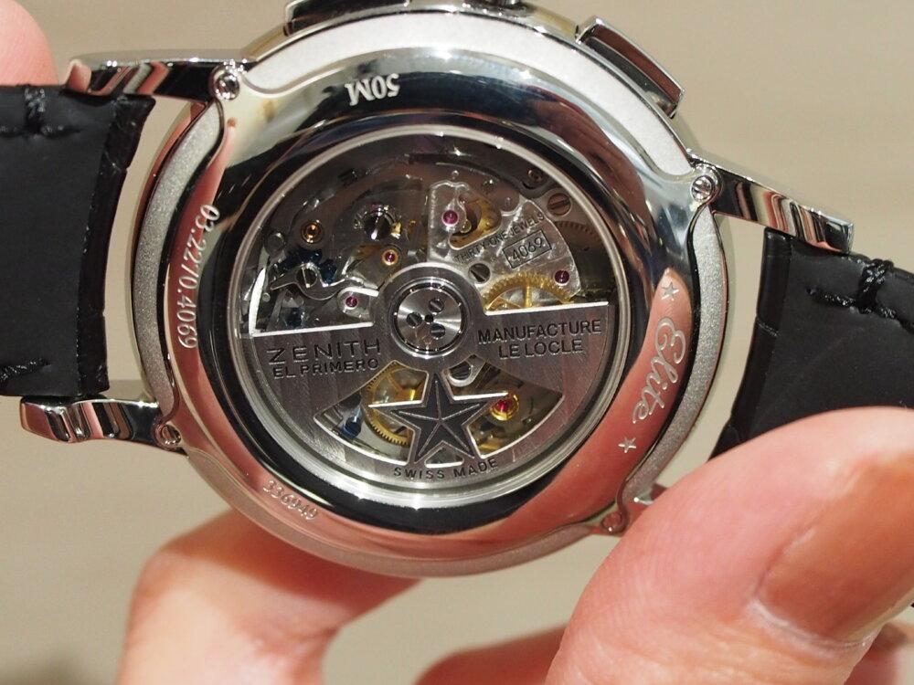 【ゼニス】伝説のクラッシック時計!!シンプルでかぶらないお時計でお探しならエリート-ZENITH -P6211745