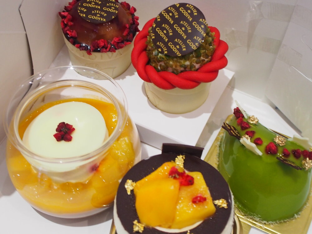 K様よりゴディバのケーキ頂きました♪-oomiya京都店のお客様 スタッフつぶやき -P6281958