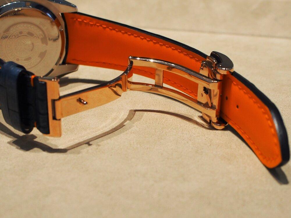 ジャンルソー オーダーストラップ完成!新たに追加された「ヴィンテージアリゲーター」-その他ブランド用 ジャン・ルソー オーダーストラップ oomiya京都店のお客様 -P7082221-1