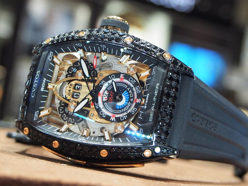 ooomiyaスペシャルモデル 「チャレンジ シーライナー GMT ブラックダイヤモンド」-CVSTOS -P7262748