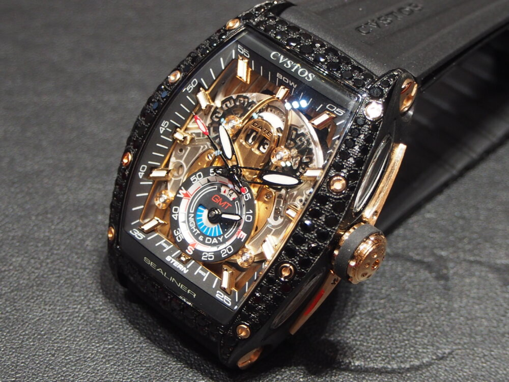 ooomiyaスペシャルモデル 「チャレンジ シーライナー GMT ブラックダイヤモンド」-CVSTOS -P7262751