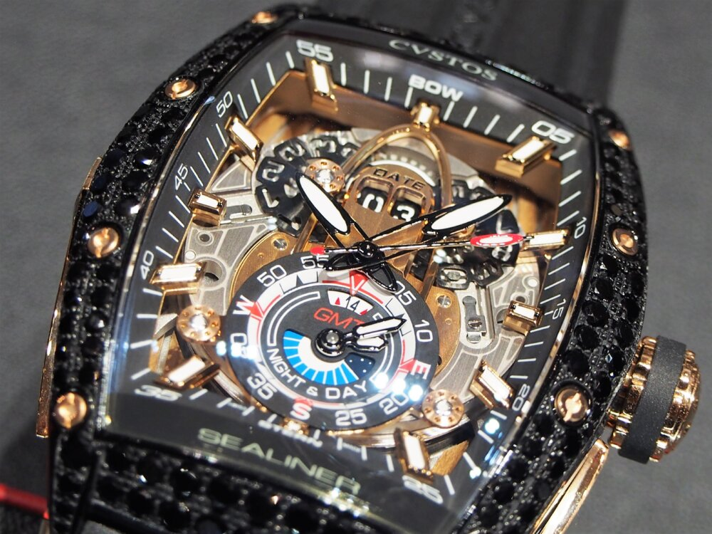 ooomiyaスペシャルモデル 「チャレンジ シーライナー GMT ブラックダイヤモンド」-CVSTOS -P7262753