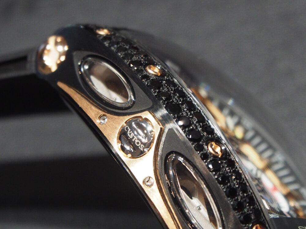 ooomiyaスペシャルモデル 「チャレンジ シーライナー GMT ブラックダイヤモンド」-CVSTOS -P7262754
