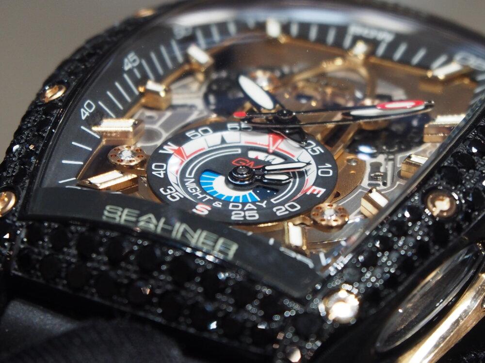 ooomiyaスペシャルモデル 「チャレンジ シーライナー GMT ブラックダイヤモンド」-CVSTOS -P7262757
