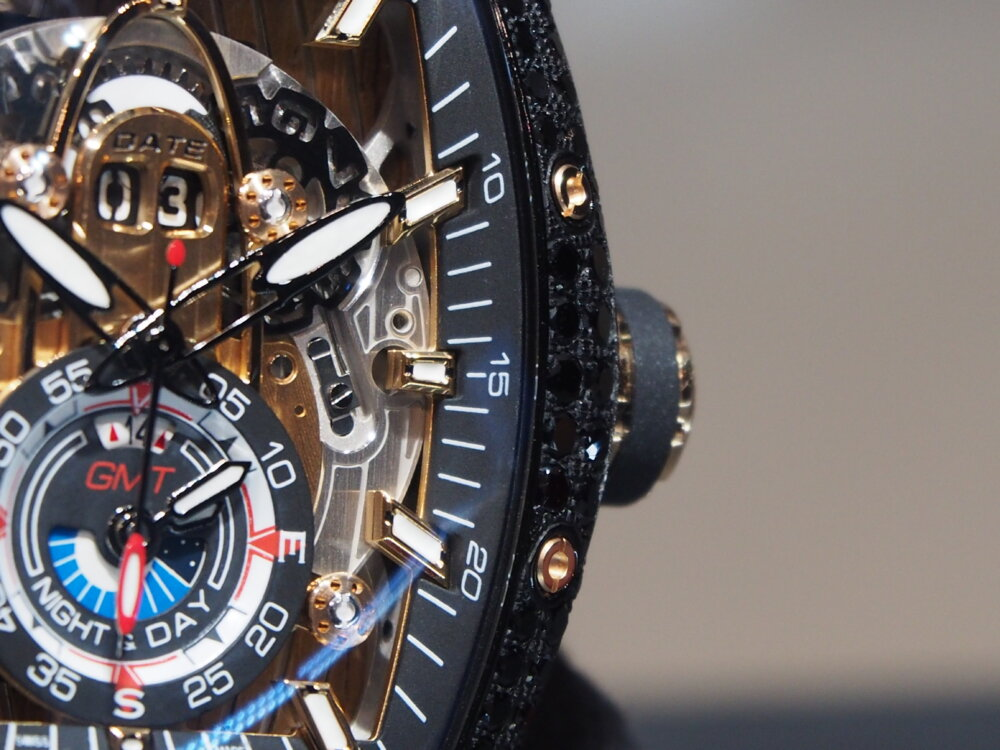ooomiyaスペシャルモデル 「チャレンジ シーライナー GMT ブラックダイヤモンド」-CVSTOS -P7262758