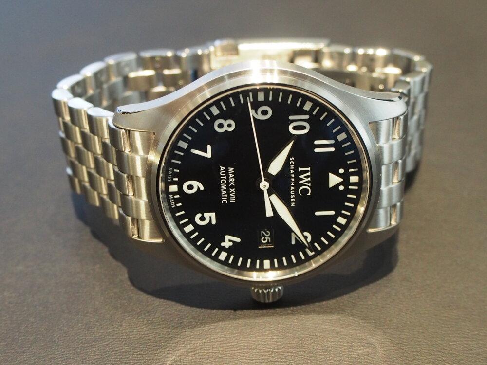 【IWC/パイロットウォッチ】視認性に富んだ超シンプル時計!「マークXVIII」-IWC -P8273087
