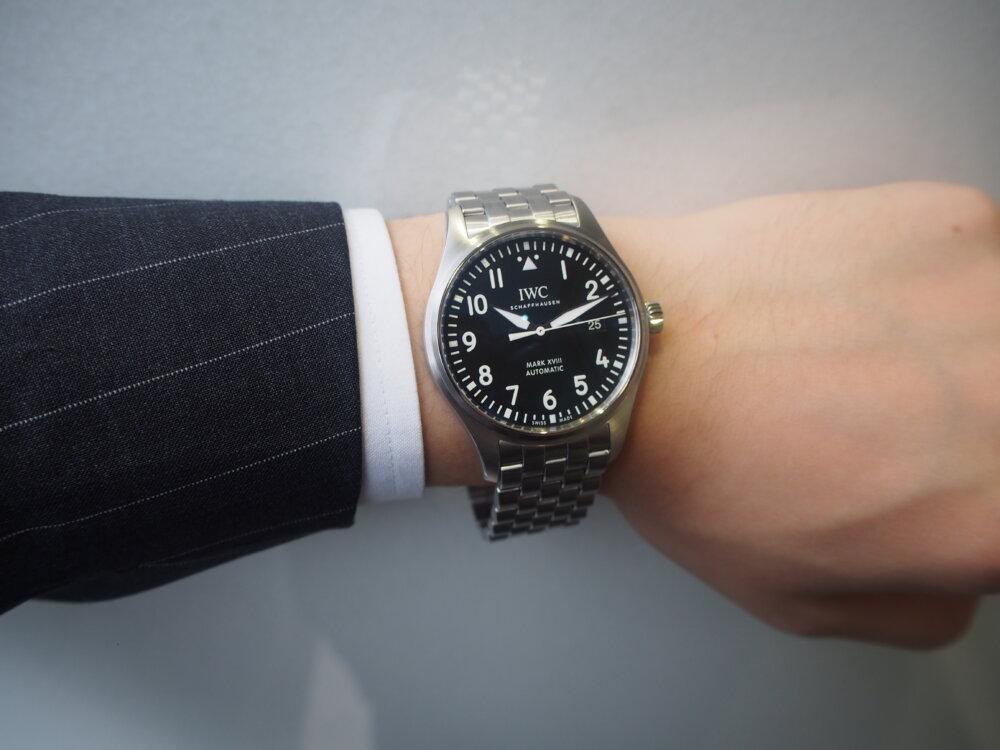 【IWC/パイロットウォッチ】視認性に富んだ超シンプル時計!「マークXVIII」-IWC -P8273092