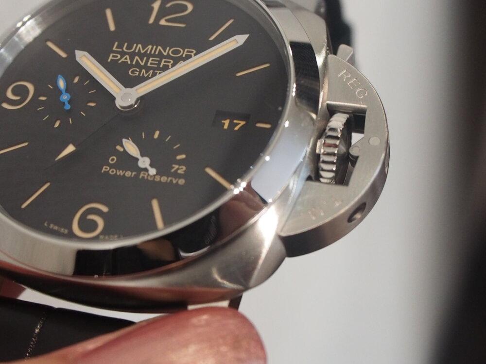 【パネライ】機械式時計デビューの方も使いやすい!!しっかり便利な機能が入ったPAM01321-PANERAI -P9010025