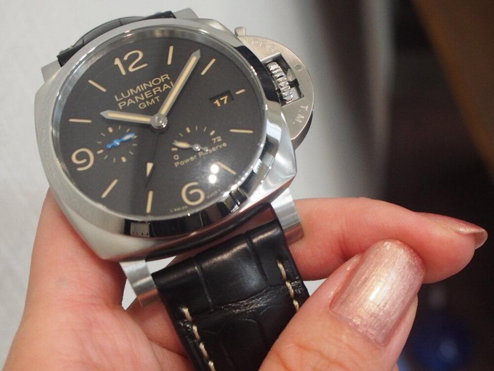 【パネライ】機械式時計デビューの方も使いやすい!!しっかり便利な機能が入ったPAM01321-PANERAI -P9010026